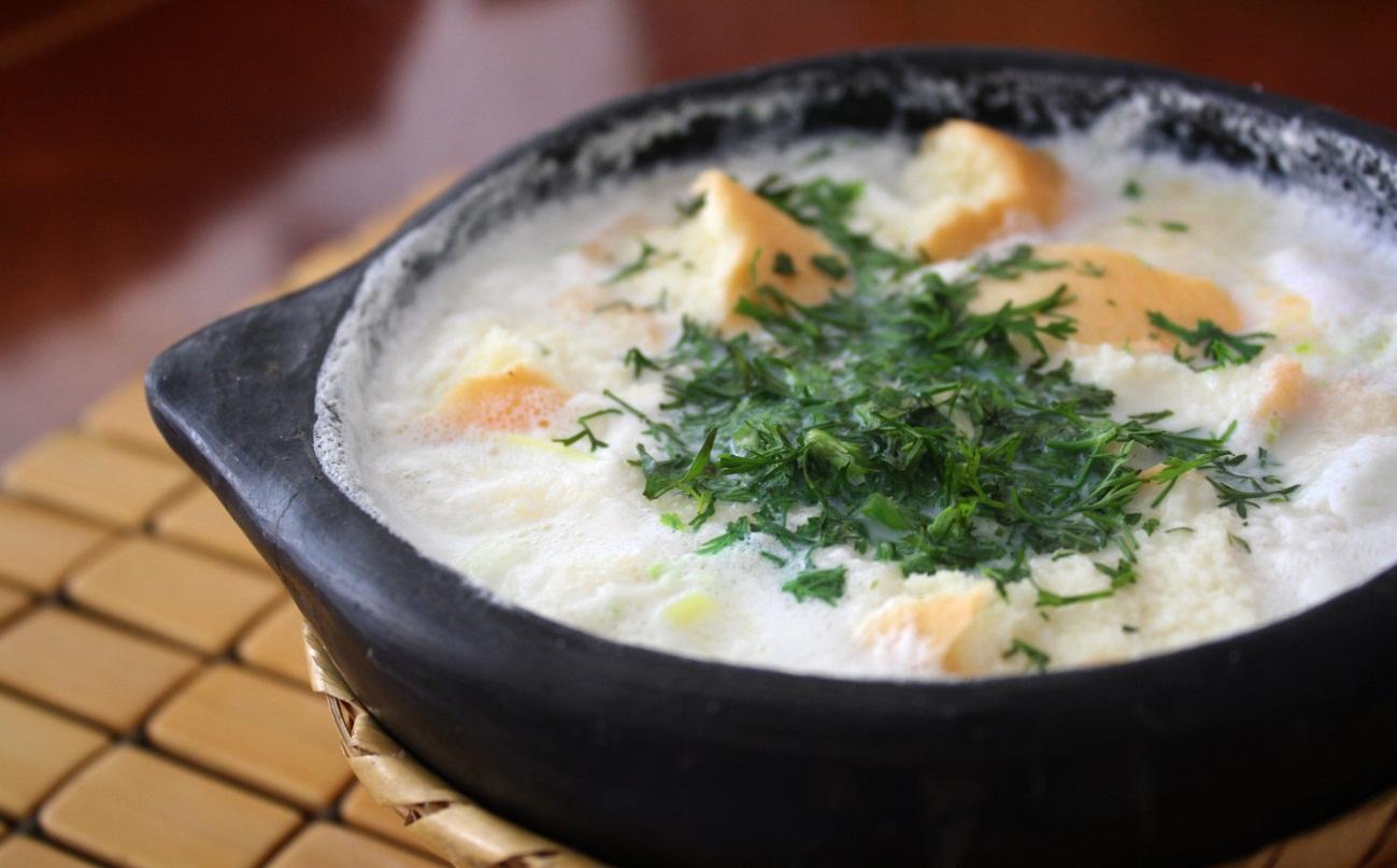Changua con Huevo-recetas