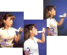 Inhalador forma de usar