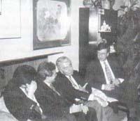 De izquierda a derecha Jhon Londoño, Antonio Iglesias, Donato Alarcón Segovia, Yesid Muñoz.